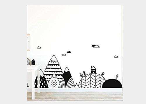 Wall Stickers Small Small Tree Removable Personalized Wall Stickers Sofa Background Wall 58*97Cm