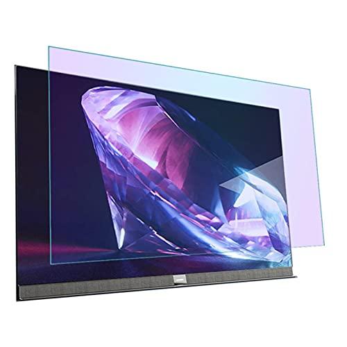 ASPZQ Filtro de Luz Azul Anti para La Pantalla Computadora TV, Aliviar La Fatiga Ocular Película Antideslumbrante para Todos Los Tamaños Televisores Marca