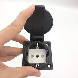 GOUWEI Schuko CEE7 Waterproof IP54 Industrial AC Electrical Power Female Socket