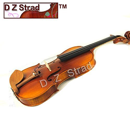 """D Z Strad Model N2011 Viola 15"""" Outfit with Case, Bow, Shoulder Rest and Rosin"""