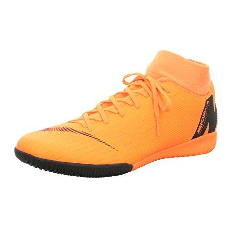 Nike Unisex-Erwachsene Mercurial SuperflyX VI Academy Indoor Fitnessschuhe, Mehrfarbig (Total Orange/Black T 810), 42.5 EU