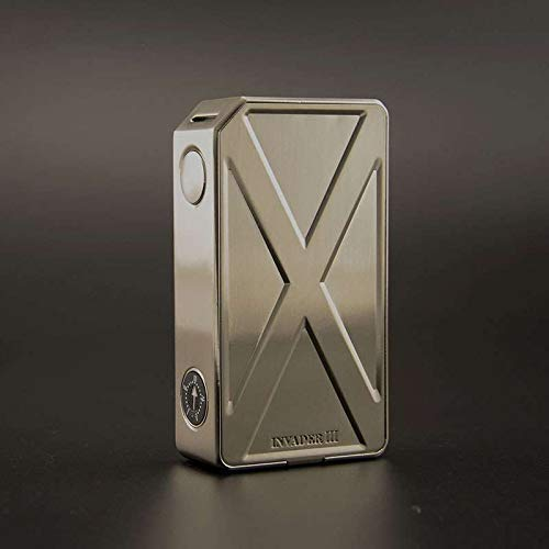 Authentic teslacigs Tesla Invader III 240W Variable Voltage VV Box Mod (silver)
