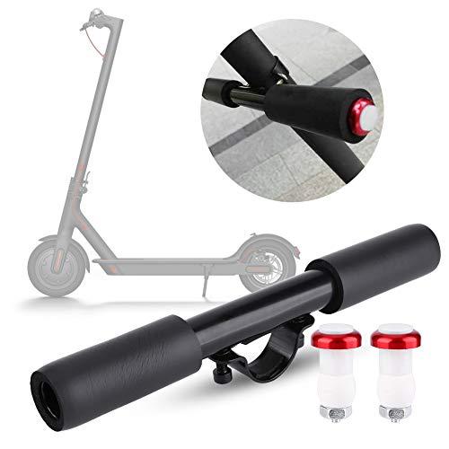 Scooter eléctrico anti-óxido Manija para niños, pantalla de aleación de aluminio Material de matrimonio y aleación de aluminio 250 mm (negro)
