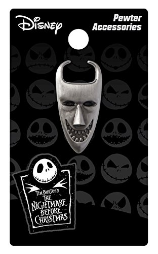 Nightmare Before Christmas Lock Mask Pewter Lapel Pin