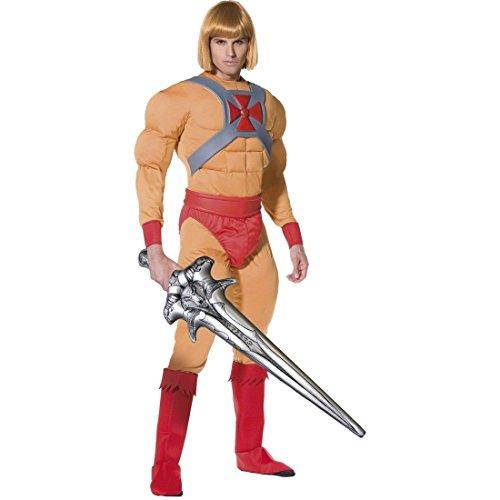 R.H.Smith & Sons Superhelden Kostüm He Man Muskel Kostüm He-Man Superheld L 52/54