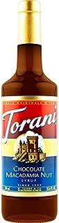 Torani Chocolate Macadamia Nut Syrup, 750 ml