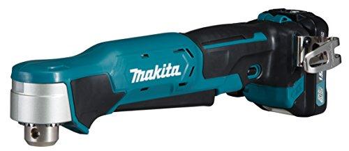 Makita DA332DSYJ Taladradora Angular (10,8 V, 2 baterías y Cargador), 140 W, 10.8 V, Azul Petróleo, mit 2x Akku 1,5 Ah