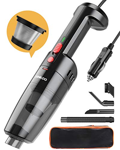 GOOLOO Handheld Portable Car Vacuum Cleaner $20.39 (40% Off with code)