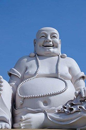 Posterazzi Big Happy Buddha statue My Tho Vietnam Poster Print by Cindy Miller Hopkins, (24 x 36) -  Danita Delimont, PDDAS38CMI0567B