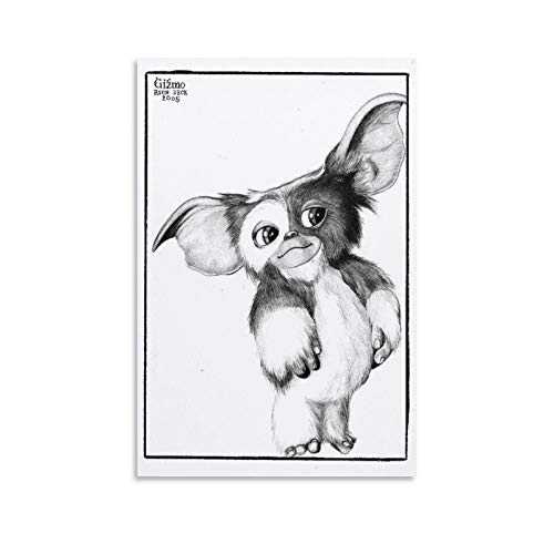YANGNA Gremlins Gizmo Home Decor Poster Wall Art Hanging Picture Print Bedroom Decorative Painting Posters Room Aesthetic 12×18inch(30×45cm)