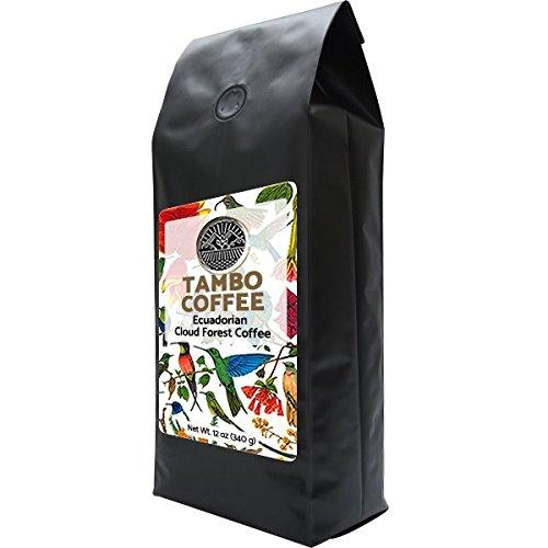 Single Estate Coffee Ecuador Tambo Quinde, Whole Beans, Dark Roast 12oz 340grams