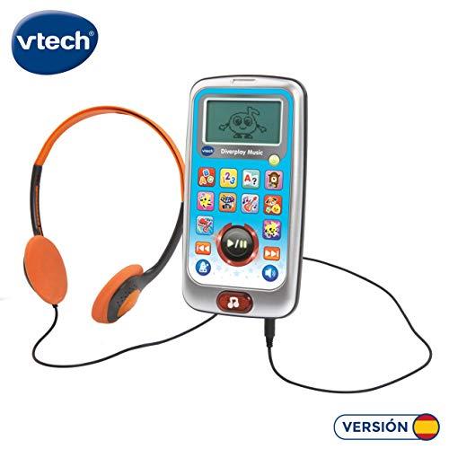 Vtech Diverplay Musik-Player für Kinder (3480-196222) , Farbe/Modell Sortiert