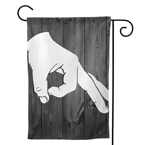 Bettiboy Gartenflagge, doppelseitig, Sommer, Saisonal, Welcome, Outdoor Rasen Hof, Dekoration, Polyester, weiß, 12.5