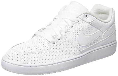 Nike Unisex-Erwachsene Priority Low Sneakers, Blanco (Blanco (White/White-Wolf Grey), 43 EU