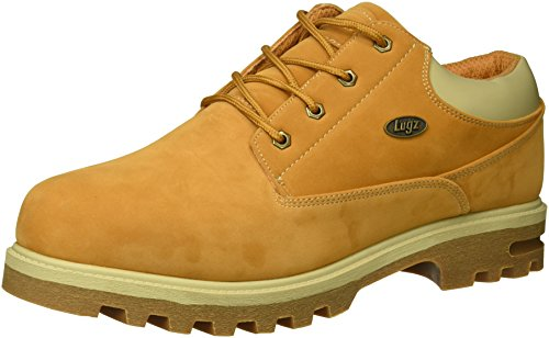 Lugz Men's Empire Lo WR Thermabuck Boot, Golden Wheat/Cream/Gum, 14 D US
