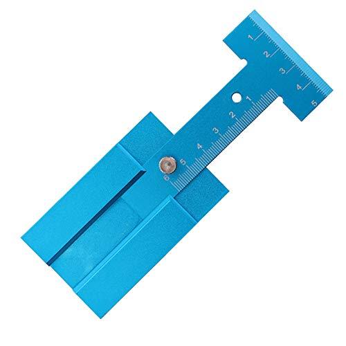 SUNERLORY Hoogte Gauge Callipers Houtbewerking Gereedschap Trimmen Eenvoudig Gebruik Het meten van Nauwkeurige Zaag Micrometer Verstelbare Aluminium Liniaal Metrisch