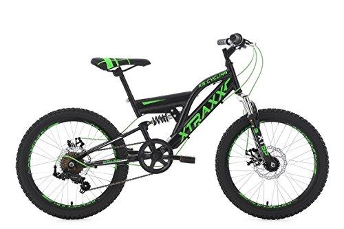 KS Cycling 126K Vélo Mixte Enfant, Noir