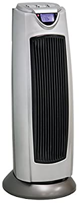 Comfort Zone CZ499R Oscillating Tower Heater with Remote Control