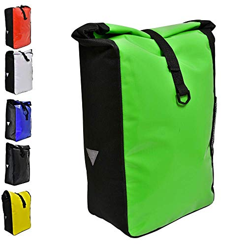 Büchel Unisex Erwachsene Büchel Fahrradtasche aus Tarpaulin, Grün, zur Befestigung Am Gepücktrüger, 81516016 Gep cktr gertaschen, grün, verschiedene Farben EU