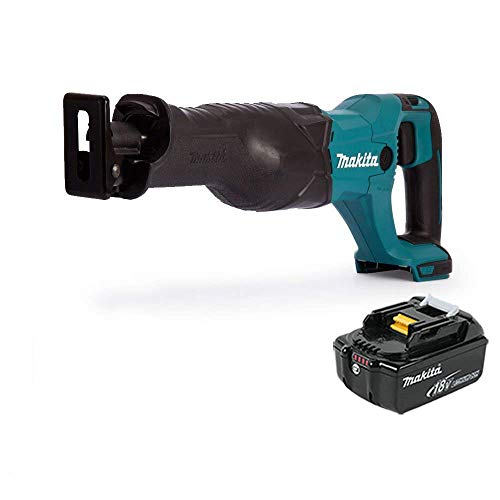 Makita DJR186Z 18V Cordless Reciprocating Saw with 1 x 5Ah Battery