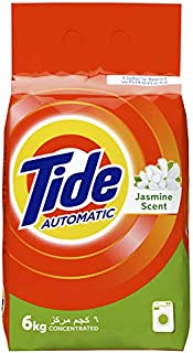 Tide Automatic Concentrated Laundry Powder Detergent with Jasmine Scent - 6 kg