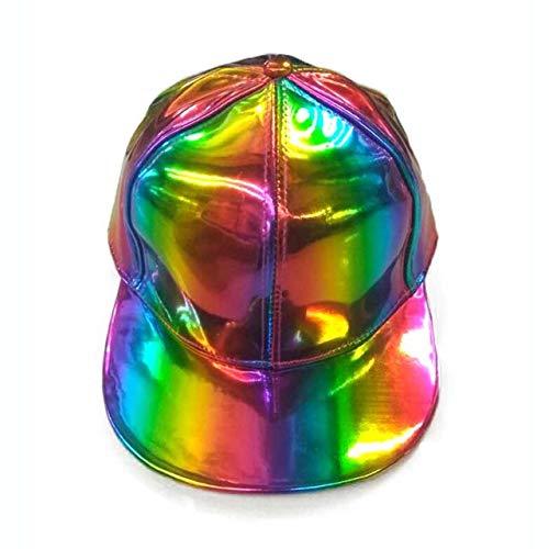 QOHNK Licencia para Gorras de béisbol Que cambian de Color del Arco Iris para Hombres Sombrero de Mujer Casual
