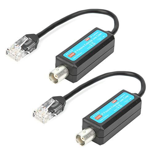 Ruiqas Verkabelung Des Passiven Extenders über Den Koaxial-Koaxial-Netzwerk-Sender-Extender über Den Koax-RJ45-Anschluss für Plug-And-Play-Funktionen Der Webkamera