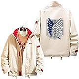 LXLX El ataque a las chaquetas del estilo de las herramientas de Titan, la capa de la impresión del anime de Japón encabeza las alas unisex del todo partido del ocio de la moda of freedom-L