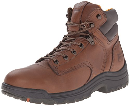 Timberland Pro Men's Titan 6' Coffee Soft-Toe Boot,Brown/Brown,12 W