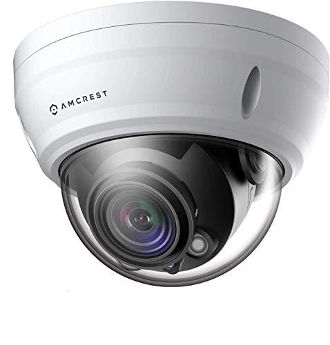 Amcrest UltraHD 4K Varifocal PoE Dome Outdoor Security Camera, 4K...