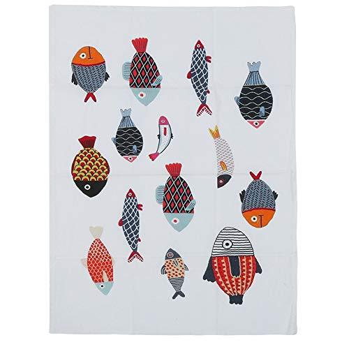 Tovaglia da 45 x 60 cm Tovaglia quadrata in cotone e lino Tovaglia da pranzo Decorazione...