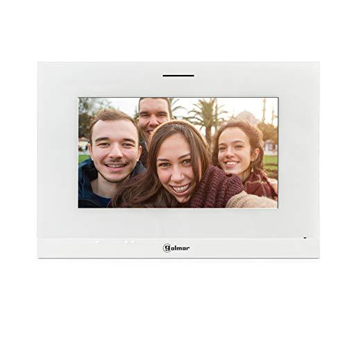 Golmar Videoportero Kit 1 Línea S5110/ART 7W con Monitor e Wi-Fi Integrado, 7', Gris