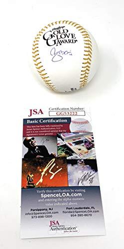 Yadier Molina St Louis Cardinals Signed Autograph Official Gold Glove MLB Baseball JSA Certified