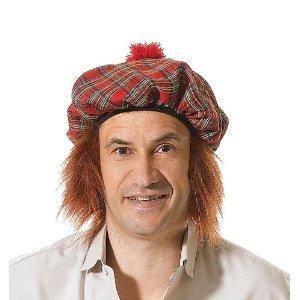écossais Chapeau Tartan/Gingembre Cheveux