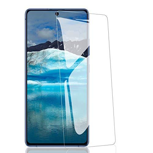 ATUIO-Panzerglas Schutzfolie für Samsung Galaxy S10 lite/Note 10 lite [3 Stück], Displayschutzfolie [9H Härte] [Hohe Empfindlichkeit] [Kratzfest] [Anti Fingerabdruck] [HD-transparent]