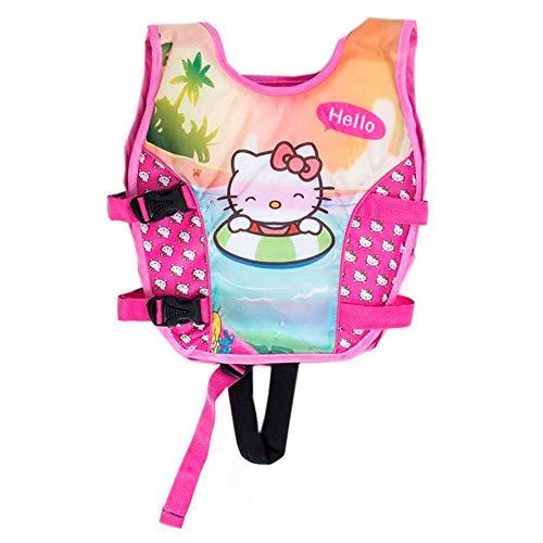 Complementos de flotación Hello Kitty para Niños Entre 2 a 6 años para Realizar Cualquier Tipo de Actividad en Piscinas, mar, pantanos o ríos (Peso: 9 – 17kg)