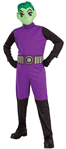 Teen Titans Go Movie Costume Beast Boy, Medium