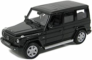 Welly Mercedes G Class G55 AMG 1/24 Scale Pre-Built Diecast Model Car Black
