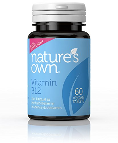 Natuur eigen hoge potentie vitamine B12 60 Vegan tabletten, 60-Count