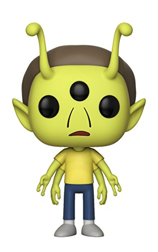 Funko Pop Morty Alienígena (Rick & Morty 338) Funko Pop Rick & Morty