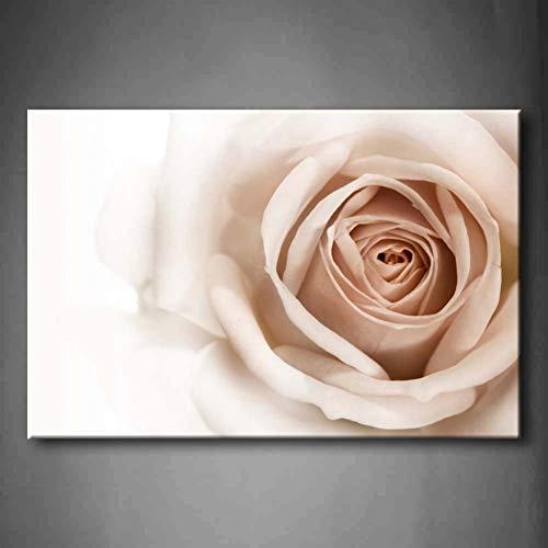 HOMEDCR 1 Pieza Pared Arte Cuadros Rosa Blanca Rosa Lona impresión Arte Flor Carteles para decoración