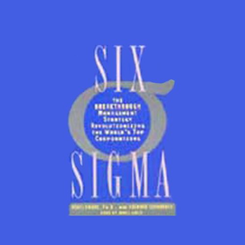 Six Sigma audiobook cover art
