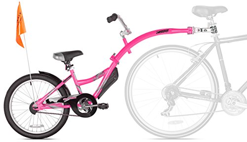 WeeRide Kazam Co-Pilot Bike Trailer, Pink