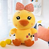 LSCRFC Lindo Pato de Peluche de Juguete muñeca Suave Lindo Pato Amarillo Almohada niño durmiendo...