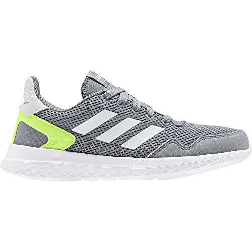 adidas Archivo K, Zapatillas de Running, Grey/FTWR White/Signal Green, 28 EU