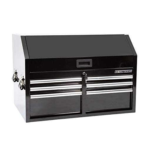 OEM TOOLS 24567 36 Inch 6-Drawer Extra Deep Combo Tool Chest | Large Mechanicâ€s Tool Box | EVA Lined Drawers Rated for over 600 Lbs. of Storage | Black