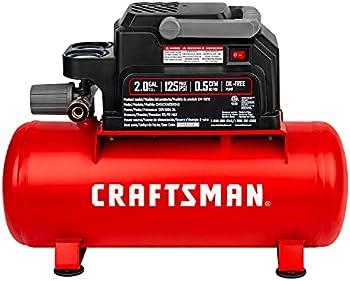 Craftsman 2-Gallon Portable Hot Dog Tank Air Compressor