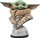 Diamond Select TOYS-OCT201995 Figura Busto Star Wars, The Mandalorian, Baby Yoda, Color (OCT201995)