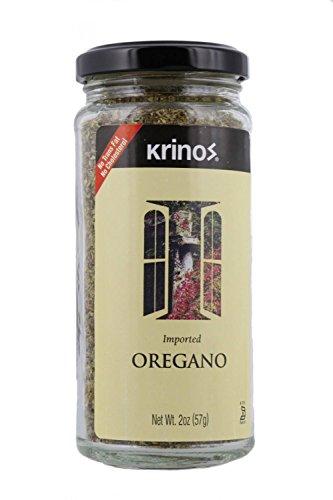 Krinos Greek Oregano, Aromatic & Rich in Flavor -2 oz Jar