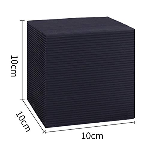 Rabusion New for Water Purifier Cube Fish Tank Rapid Water Purification Aquarium Ponds Honeycomb Charcoal Decoration Water purification cube Large size 10 * 10 * 10cm